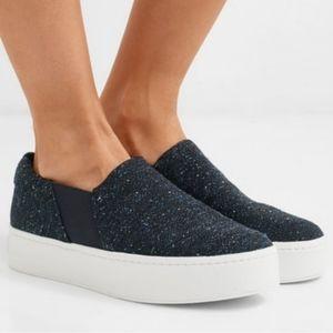 Vince Warren platform Tweed sneakers